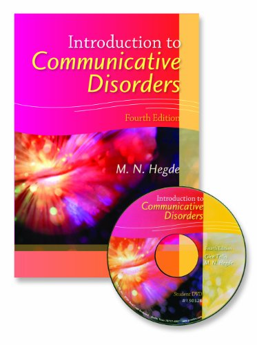 Introduction to Communicative Disorders: Hegde, M. N.