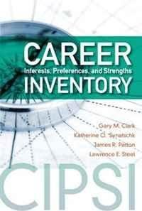 9781416405030: Career Interests, Preferences, and Strengths Inventory (Cipsi)