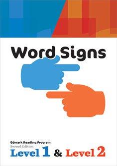 9781416405054: Edmark Reading Program, Level 1 & 2, Word Signs
