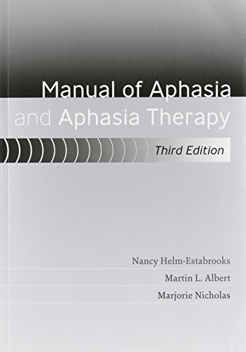 MANUAL OF APHASIA+APHASIA THERAPY: HELM-ESTABROOK