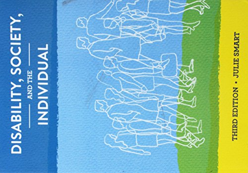 9781416410003: Disability, Society and the Individual