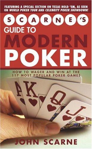 9781416500551: Scarne's Guide to Modern Poker