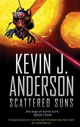 9781416502906: The Saga of Seven Suns 4. Scattered Suns