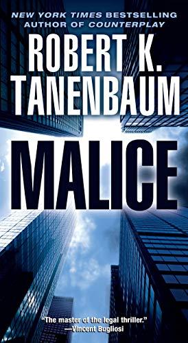 9781416505433: Malice (A Butch Karp-Marlene Ciampi Thriller)