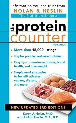 The Protein Counter 3rd Edition: Heslin M.A.  R.D.  CDN, Jo-Ann; Nolan Ph.D., Ph.D. Karen J