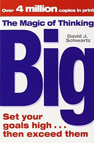9781416511557: The Magic of Thinking Big