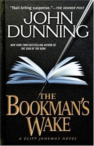 9781416513230: THE BOOKMAN'S WAKE ( A Cliff Janeway Novel )