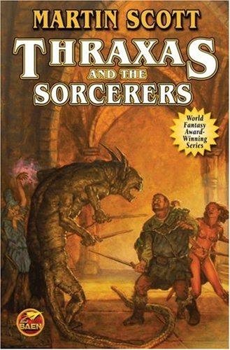 9781416521242: Thraxas and the Sorcerers