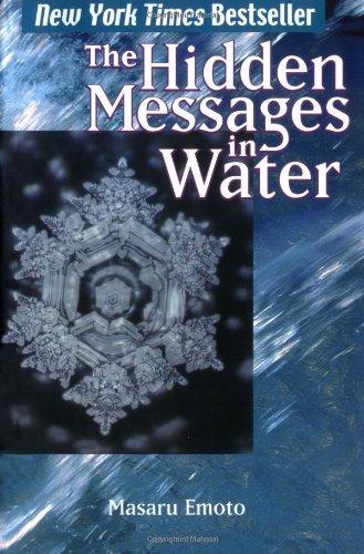 9781416522195: The Hidden Messages in Water