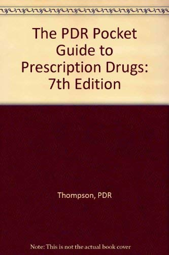 9781416523314: The PDR Pocket Guide to Prescription Drugs: 7th Edition