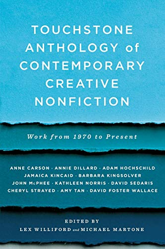 9781416531746: Touchstone Anthology of Contemporary Creative Nonfiction: Work from 1970 to the Present