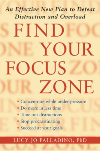 9781416532019: Find Your Focus Zone: An Effective New Plan to Defeat Distraction and Overload