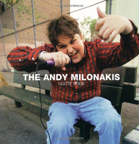 9781416532859: The Andy Milonakis Quote Book