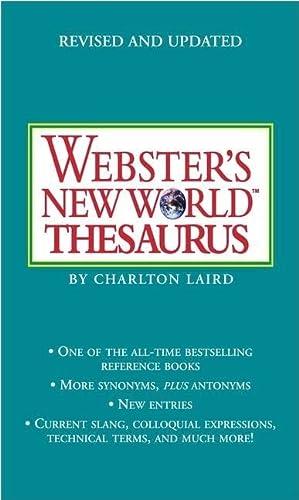9781416533283: PROPWebster's New World Thesaurus: Third Edition