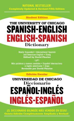 9781416533290: The University of Chicago Spanish-English English-Spanish Dictionary Edition: fifth