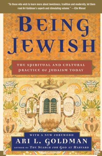 9781416536024: Being Jewish: The Spiritual and Cultural Practice of Judaism Today