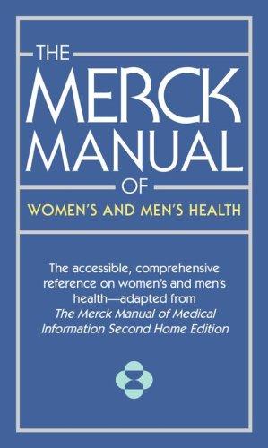 The Merck Manual of Women's and Men's: Kaplan, Justin L.,
