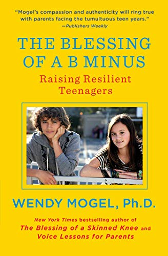 9781416542049: The Blessing of a B Minus: Using Jewish Teachings to Raise Resilient Teenagers