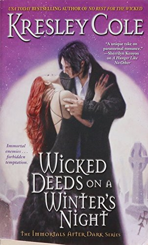 9781416547037: Wicked Deeds on a Winter's Night (Immortals After Dark, Book 3)