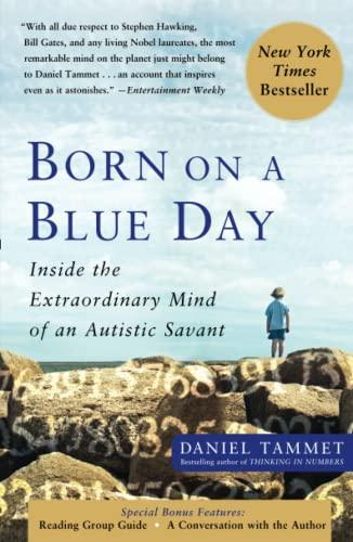 9781416549017: Born On A Blue Day: Inside the Extraordinary Mind of an Autistic Savant