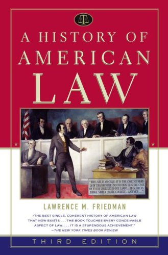 9781416554660: A History of American Law