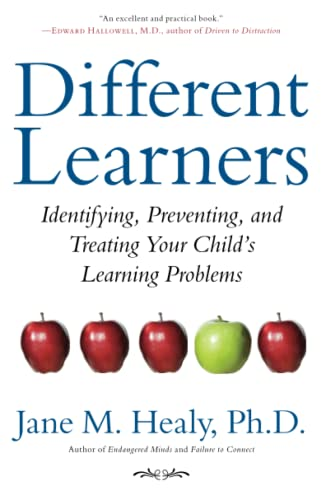 9781416556428: Different Learners: Identifying, Preventing, and Treating Your Child's Learning Problems