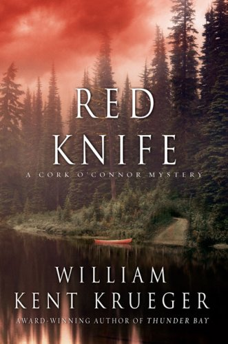 RED KNIFE (SIGNED)