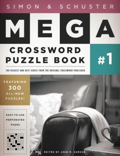 9781416557005: Simon & Schuster Mega Crossword Puzzle Book #1 (S&S Mega Crossword Puzzles)