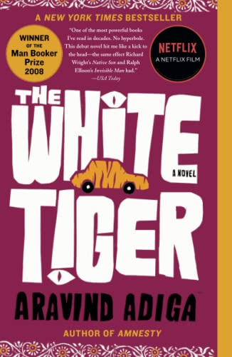 9781416562603: The White Tiger (Man Booker Prize)