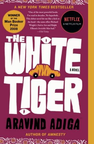 9781416562603: The White Tiger: A Novel