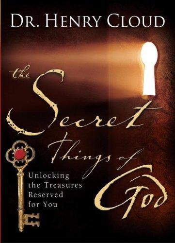 9781416563600: The Secret Things of God