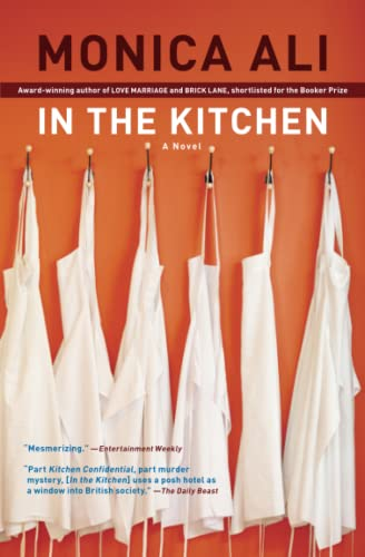In The Kitchen 9781416571698 Monica Ali, nominated for the Man Booker Prize, the Los Angeles Times Book Prize, and the National Book Critics Circle Award, has written a follow-up to Brick Lane that further establishes her as one of England's most compelling and original voices. Gabriel Lightfoot, an enterprising man from a northern English mill town, is making good in London. As executive chef at the once-splendid Imperial Hotel, he aims to run a tight kitchen. Though he's under constant challenge from the competing demands of an exuberantly multinational staff, a gimlet-eyed hotel management, and business partners with whom he is secretly planning a move to a restaurant of his own, all Gabe's hard work looks set to pay off. Until, that is, a worker is found dead in the kitchen's basement. It is a small death, a lonely death—but it is enough to disturb the tenuous balance of Gabe's life. Enter Lena, an eerily attractive young woman with mysterious ties to the dead man. Under her spell, Gabe makes a decision, the consequences of which strip him naked and change the course of the life he knows—and the future he thought he wanted. With prose that  crackles with verve and vivacity  (Milwaukee Journal Sentinel) and  a truly Dickensian cast of characters  (The Buffalo News), Ali's  portrait of a middle-aged Holden Caulfield wandering the streets  (The Plain Dealer) is a sheer pleasure to read.