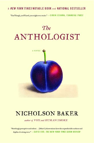 9781416572459: The Anthologist: A Novel