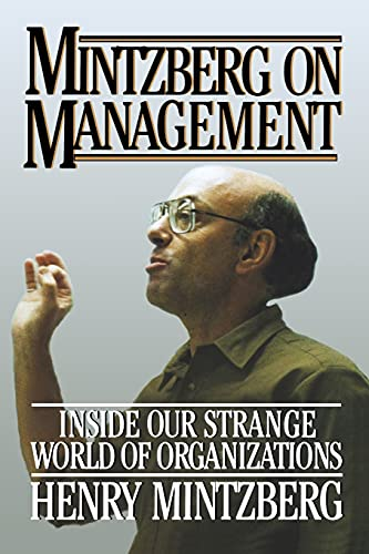 9781416573197: Mintzberg on Management