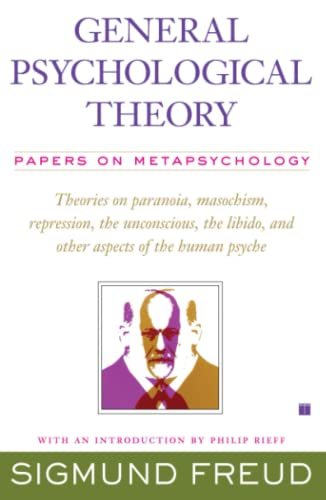 9781416573593: General Psychological Theory: Papers on Metapsychology (The Collected Papers of Sigmund Freud)
