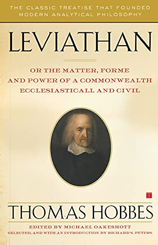 Leviathan : Or the Matter, Forme, and: Thomas Hobbes