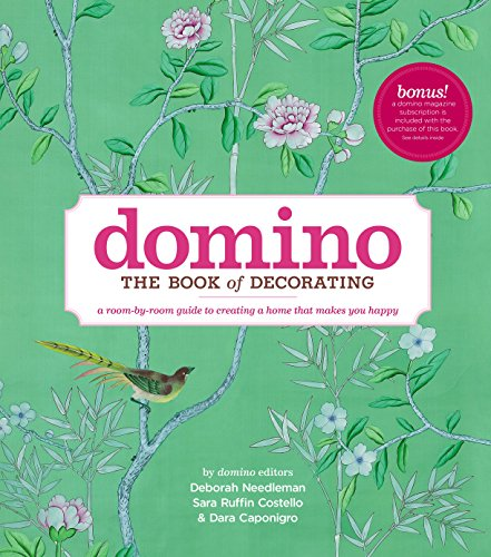 9781416575467: Domino: The Book of Decorating: A Room-by-Room Guide to Creating a Home That Makes You Happy
