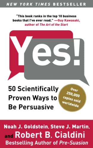 9781416576143: Yes!: 50 Scientifically Proven Ways to Be Persuasive