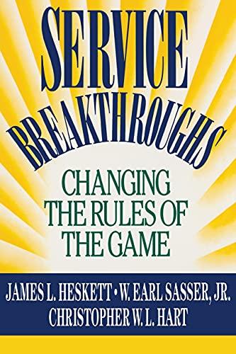 9781416576860: Service Breakthroughs