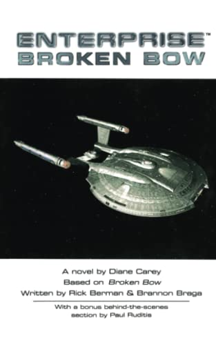 9781416577164: Broken Bow (Star Trek: Enterprise)