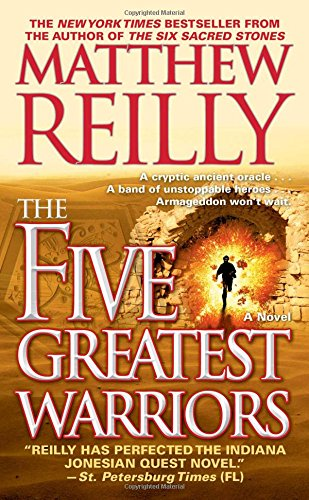 9781416577584: The Five Greatest Warriors (Jack West, Jr.)