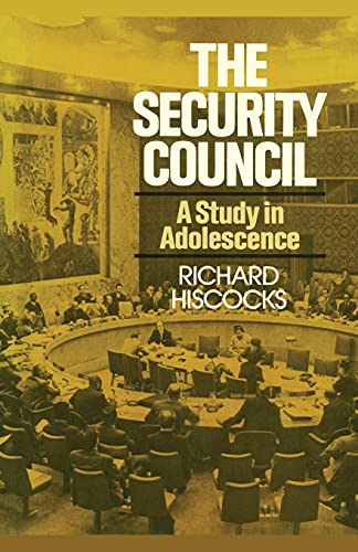 9781416577737: The Security Council (A Study in Adolescence)