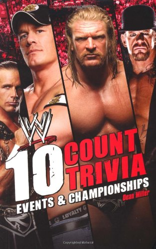 9781416591375: 10 Count Trivia: Events and Championship (WWE)