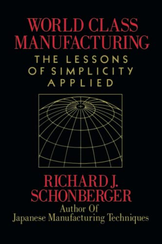 9781416592549: World Class Manufacturing: The Lessons of Simplicity Applied