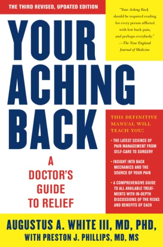 9781416593010: Your Aching Back: A Doctor's Guide to Relief