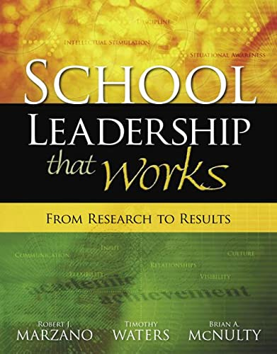 9781416602279: School Leadership That Works: From Research to Results