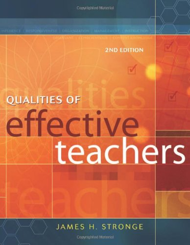9781416604617: Qualities of Effective Teachers