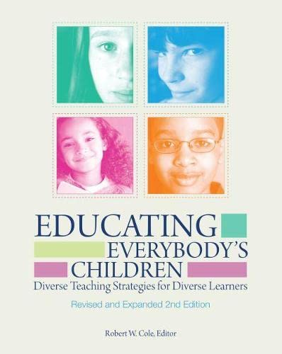 9781416606741: Educating Everybody's Children: Diverse Teaching Strategies for Diverse Learners