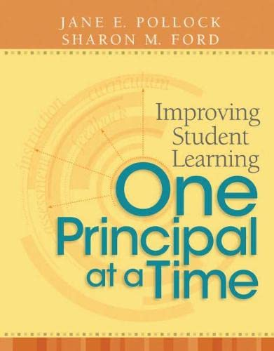 9781416607687: Improving Student Learning One Principal at a Time