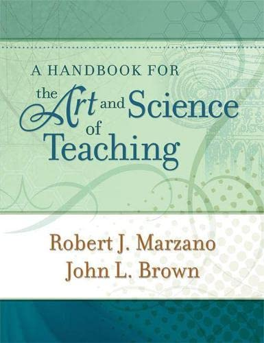 9781416608189: A Handbook for the Art and Science of Teaching (Professional Development)
